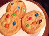 M&amp;m&#39;s Party Cookies