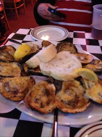 Chargrilled Oysters Acme Oyster House Style. Photo by JaneFHopson