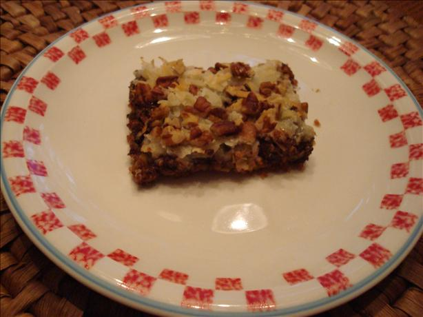 Magic Cookie Bars. Photo by wwltmom