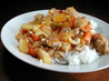 Dutch Oven Cashew Chicken. Recipe by SusieQusie