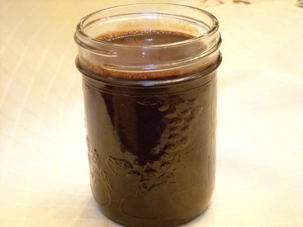 Alton Brown's Cocoa Syrup. Photo by mums the word
