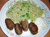Chef Flower's Turkish Cypriot Fried Meatballs - Kibrisli Kofte /