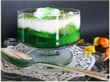 Kiwifruit Lime Jello with Yogurt