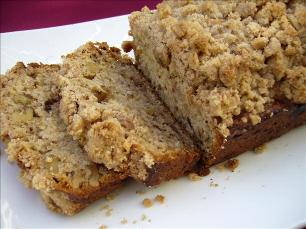 Unique and Yummy Banana Crunch Bread. Photo by cookiedog