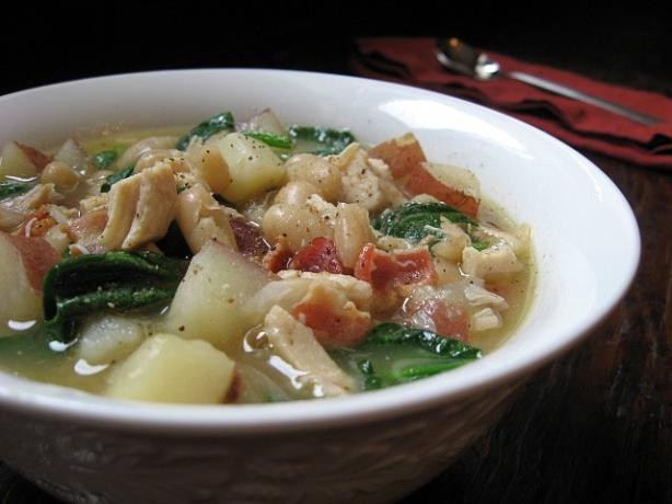 Chicken and White Bean Stew. Photo by ms_bold