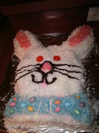 Cibo del diavolo Bunny Cake.  Foto di CIndytc