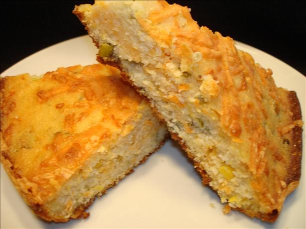 Baby's Jalapeño Cheese Cornbread. Photo by Vicki in CT