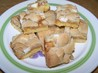 White Chocolate-Macadamia-Caramel Bars. Recipe by Chef PotPie