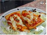 Vannisa's Chicken Parmesan Pizza