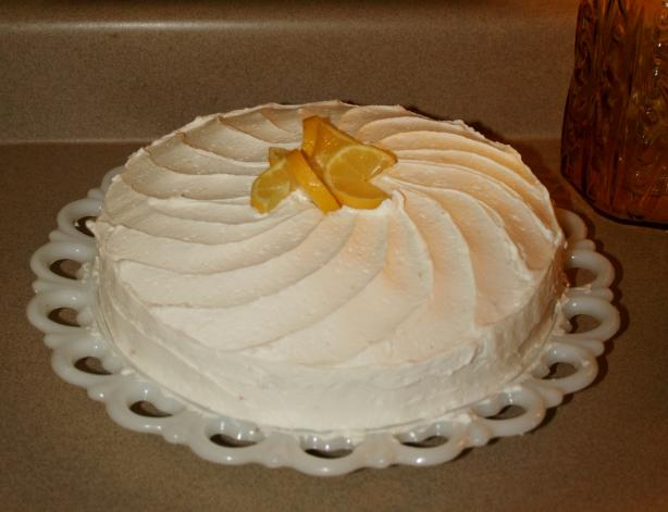 Lemon Buttercream Frosting (From the Famous Sprinkles Cupcakes). Photo by Pineapplepony