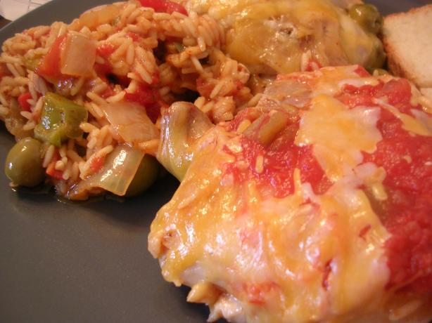 Oven-Baked Spanish Chicken With Rice. Photo by Samantha in Ut