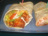 Buffalo Chicken Wraps. Recipe by ErikaNY