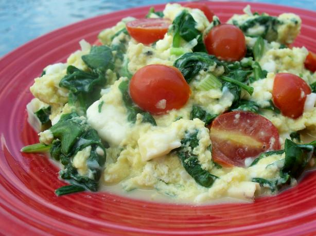 Greek Scrambled Eggs. Photo by *Parsley*