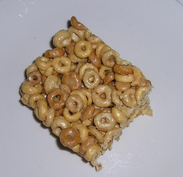 Cheerios Marshmallow Bars. Photo by Deb G