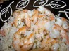 Quick Shrimp Scampi Bake. Recipe by KelBel