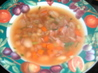 Low Fat Butter Bean and Ham Soup. Recipe by mickeydownunder
