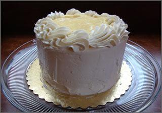 Fresh Lemon Chiffon Cake. Photo by Bowie Girl