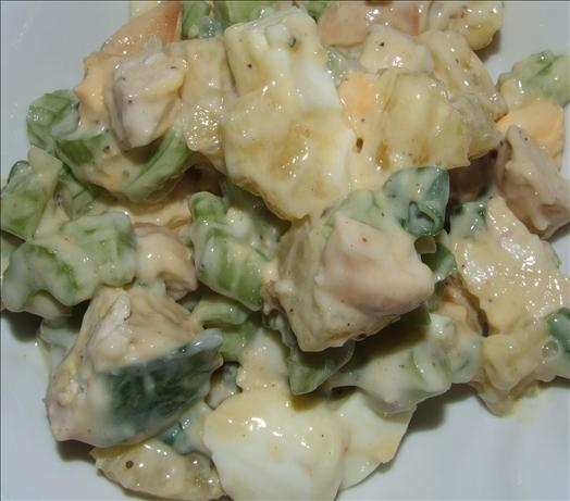 Chicken Salad With Pineapple. Photo by Peter J