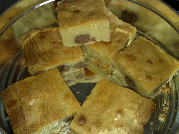 White Chocolate Blondies. Photo by Shuzbud