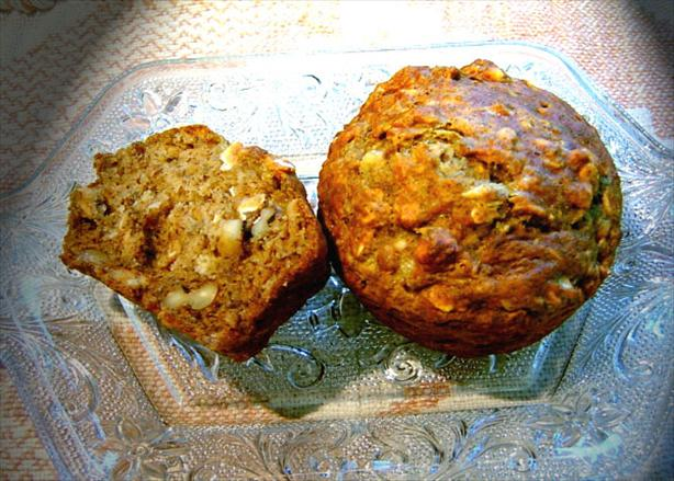 Banana Oat Muffins. Photo by Mikekey