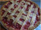 Bubby's Strawberry Rhubarb Pie