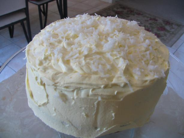 Coconut Layer Cake W/ Cream Cheese Coconut Frosting. Photo by Beachbunnymom