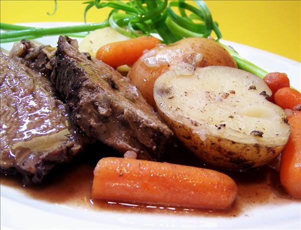 Super Simple Crock Pot Roast. Photo by PaulaG