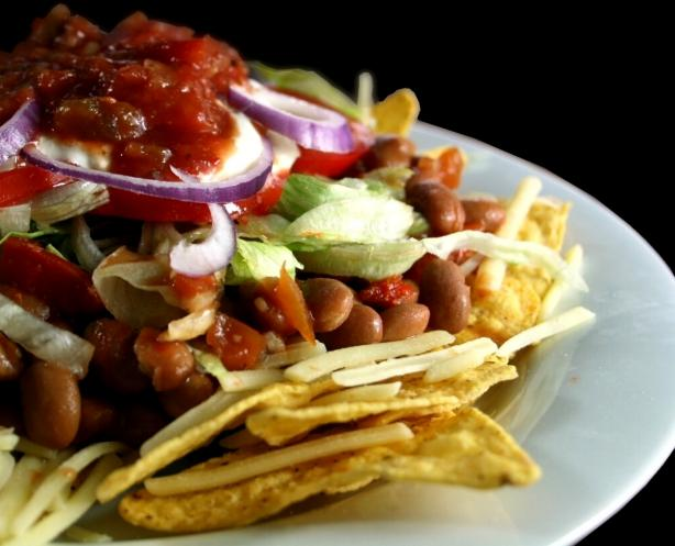 Hully Gully (Frito Chili Salad). Photo by Chef floWer