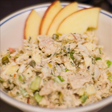 Lebanese Tuna Tahini Salad. Photo by Michelle Berteig