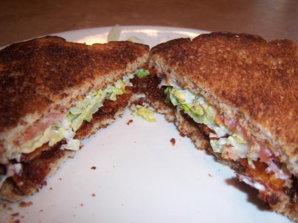 Vegetarian BLT. Photo by Soup Lady
