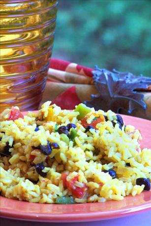 Black Bean & Yellow Rice Salad. Photo by NcMysteryShopper
