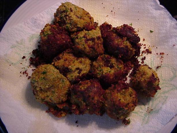 Falafel-Fried. Photo by John H