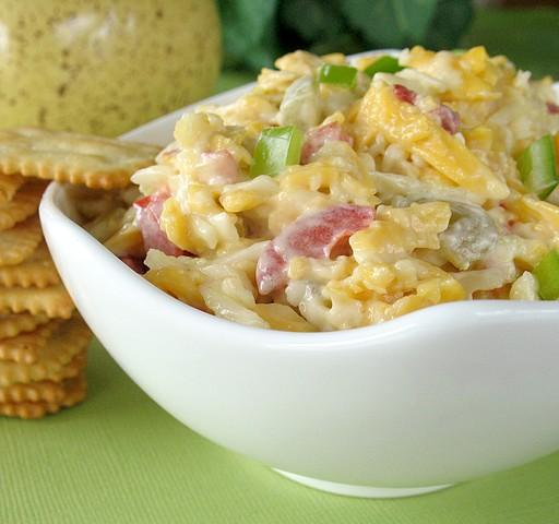 Green Chile-Pimiento Cheese. Photo by Calee