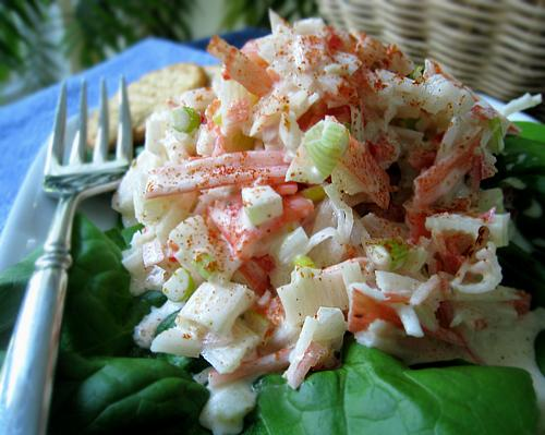 Maryland Crab Salad. Photo by Caroline Cooks
