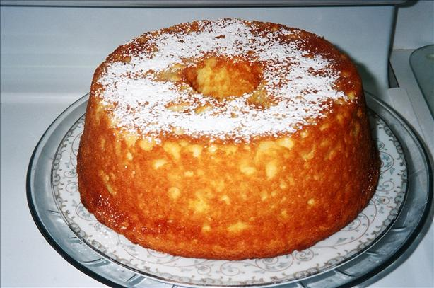 Pineapple-Sour Cream Pudding Cake. Photo by Seasoned Cook