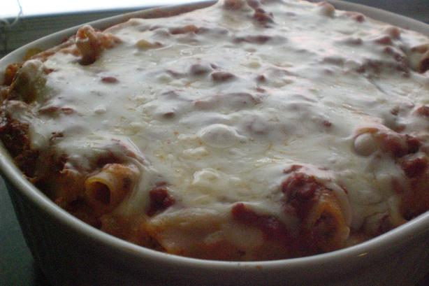 Baked Ziti. Photo by Rollin in the Dough!