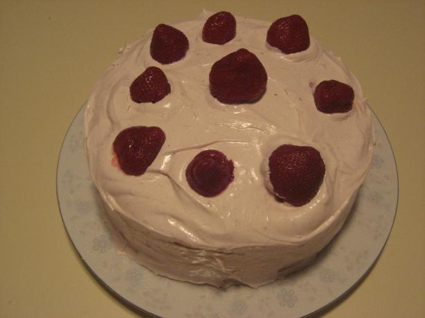 Easy Strawberry Cake. Photo by Gina from TX