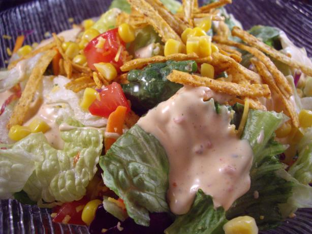 Southwest Salad. Photo by Columbus Foodie