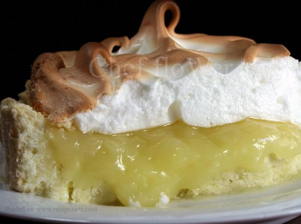 Lemon Meringue Pie. Photo by Chef floWer