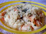 Shrimp Risotto With Fresh Herb Butter