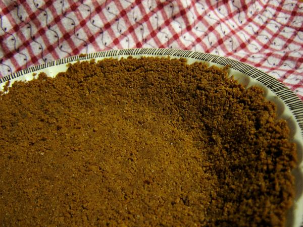 Vegan Cookie Crumb Crust (Chocolate or Gingersnap). Photo by Saturn