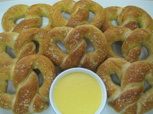 Soft Ball Pretzels Courtesy of Paula Deen. Photo by DeeVaFoodie