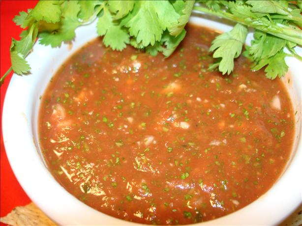 Simply the Best  Salsa. Photo by Vicki in CT