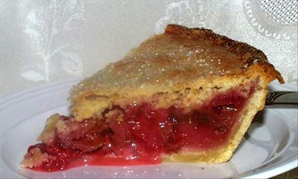 Strawberry Rhubarb Pie. Photo by twissis