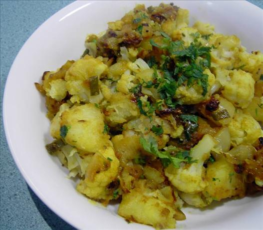 Aloo Gobi - Potato and Cauliflower Curry.. Photo by JustJanS