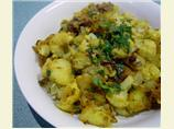 Aloo Gobi - Potato and Cauliflower Curry.