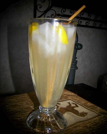 Lemon-Ginger Tingler. Photo by Baby Kato