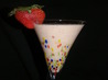 Fresh Banana-Berry Shake. Recipe by Vitameatavegamin Girl