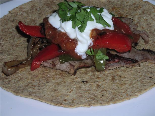 Ww 3 Points - Grilled Beef Fajitas. Photo by TeresaS