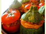 Petits Farcis - Provençe Stuffed Baked Vegetables